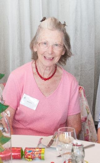 Barbara at Easylink volunteer Xmas party